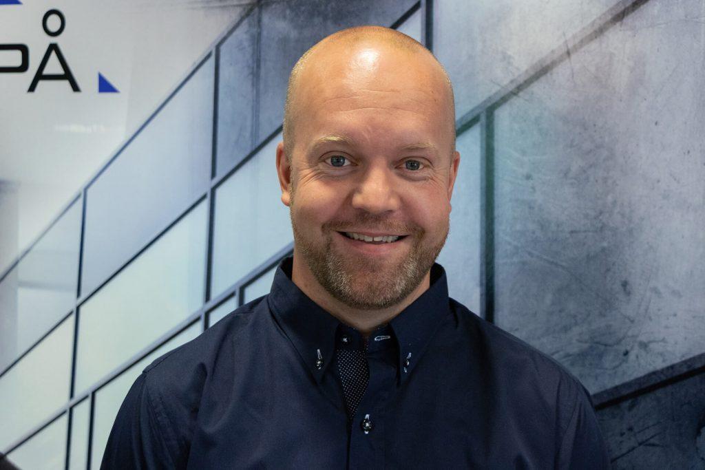 Stian Berntsen ny avdelingsleder